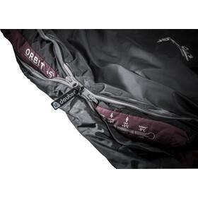 Deuter Orbit +5° SL Schlafsack Damen granite-aubergine